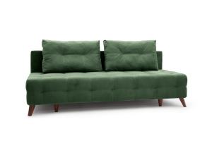 Прямой диван Фокс Amigo Green Вид по диагонали