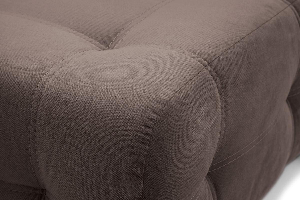 Прямой диван Фокс Amigo Chocolate Текстура ткани