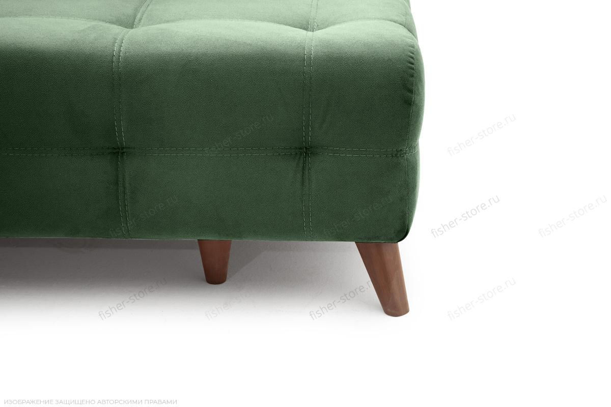 Прямой диван Фокс Amigo Green Ножки