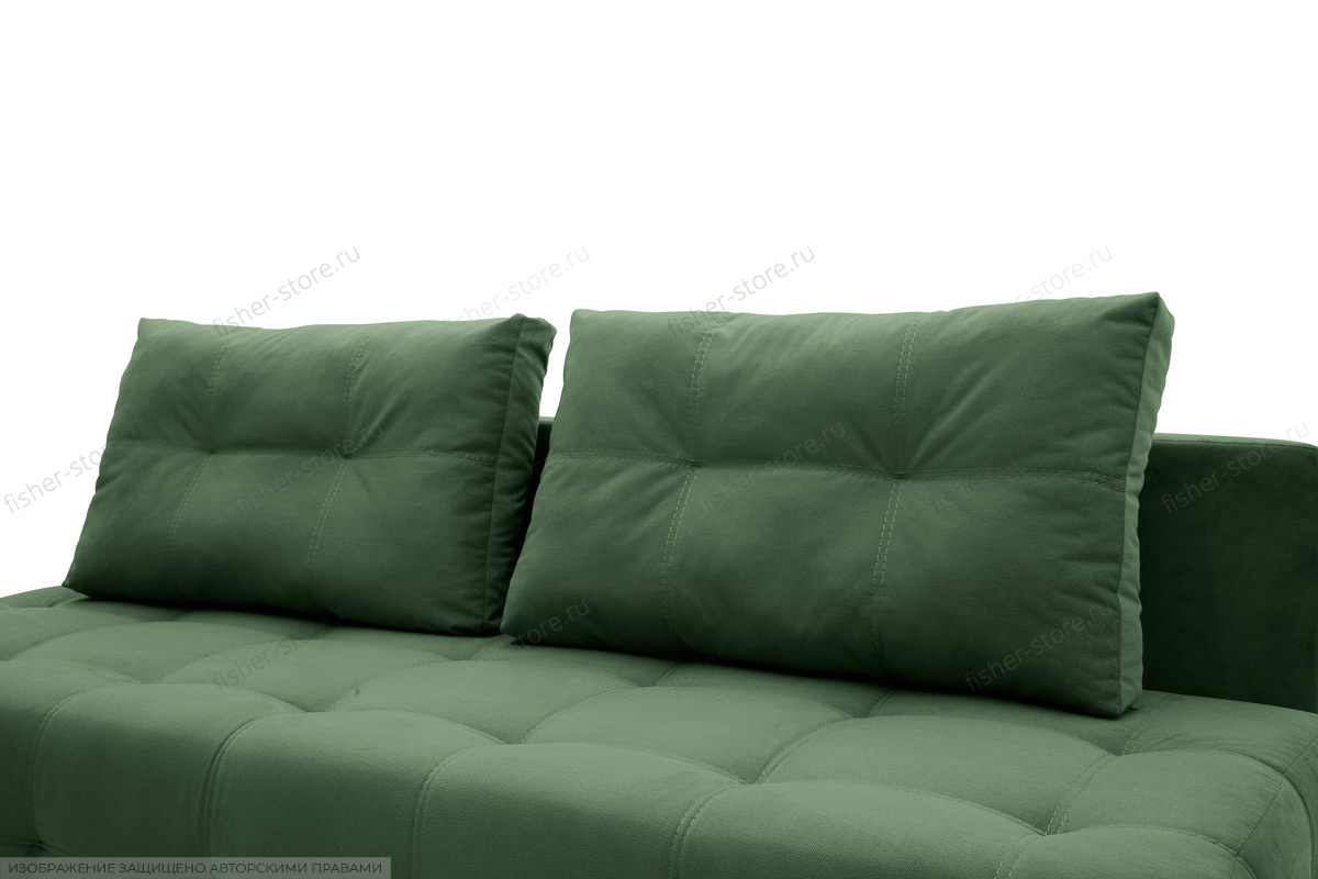Прямой диван Фокс Amigo Green Подушки