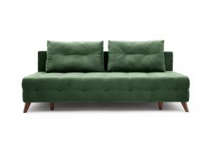 Прямой диван Фокс Amigo Green Вид спереди