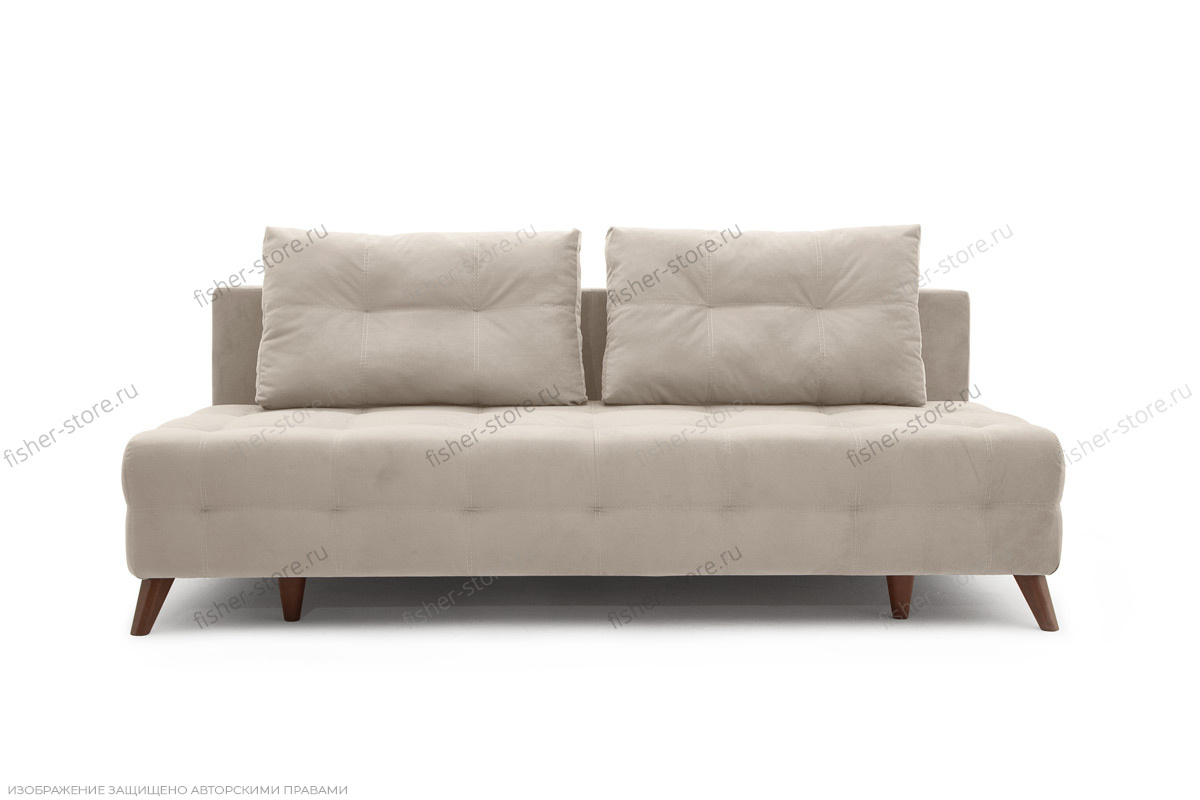 Прямой диван Фокс Amigo Cream Вид спереди