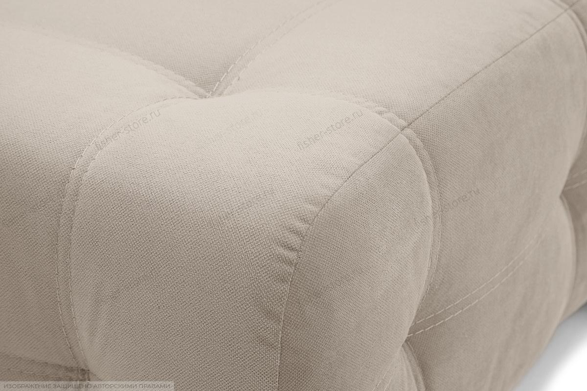 Прямой диван Фокс Amigo Cream Текстура ткани