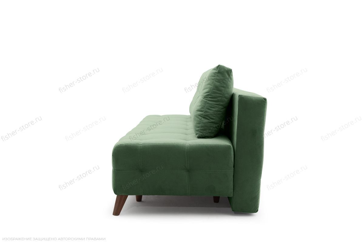 Прямой диван Фокс Amigo Green Вид сбоку