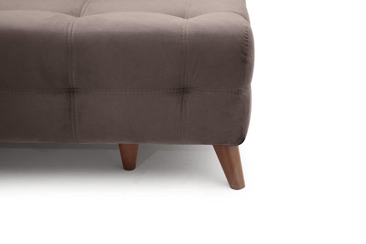 Прямой диван Фокс Amigo Chocolate Ножки