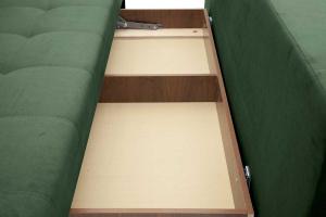 Прямой диван Фокс Amigo Green Ящик для белья