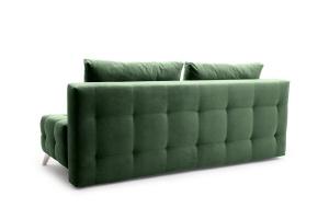 Прямой диван Фокс Amigo Green Вид сзади