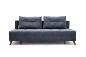 Прямой диван Фокс Amigo Navy Вид спереди