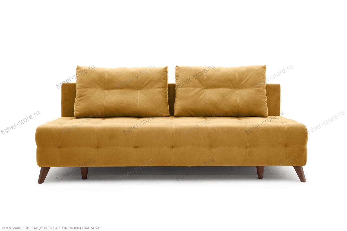 Прямой диван Фокс Amigo Yellow Вид спереди