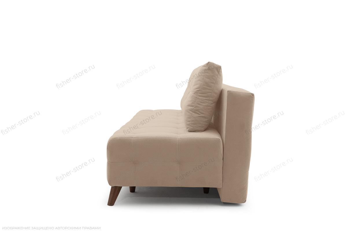 Прямой диван Фокс Amigo Latte Вид сбоку