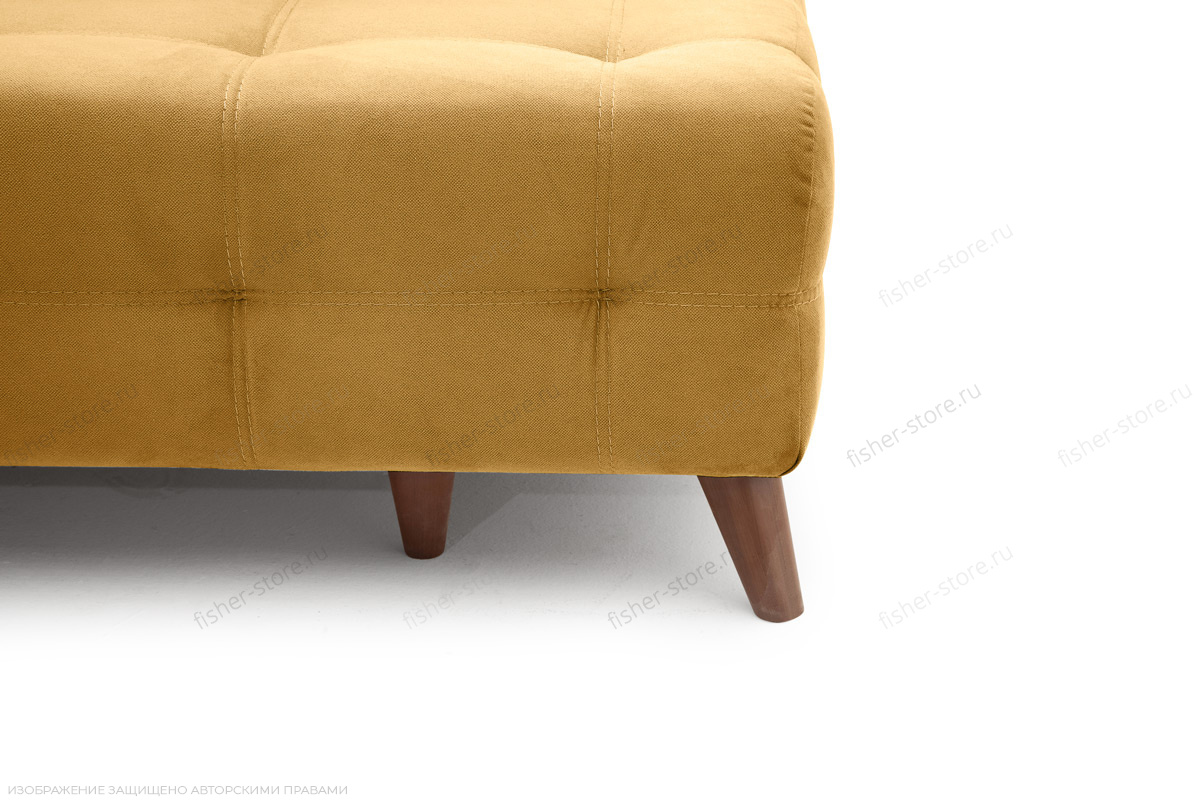 Прямой диван Фокс Amigo Yellow Ножки