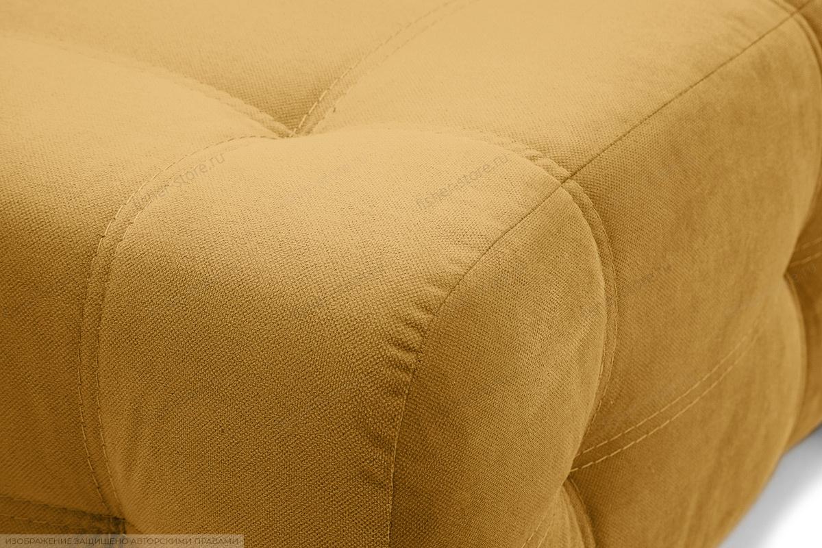 Прямой диван Фокс Amigo Yellow Текстура ткани