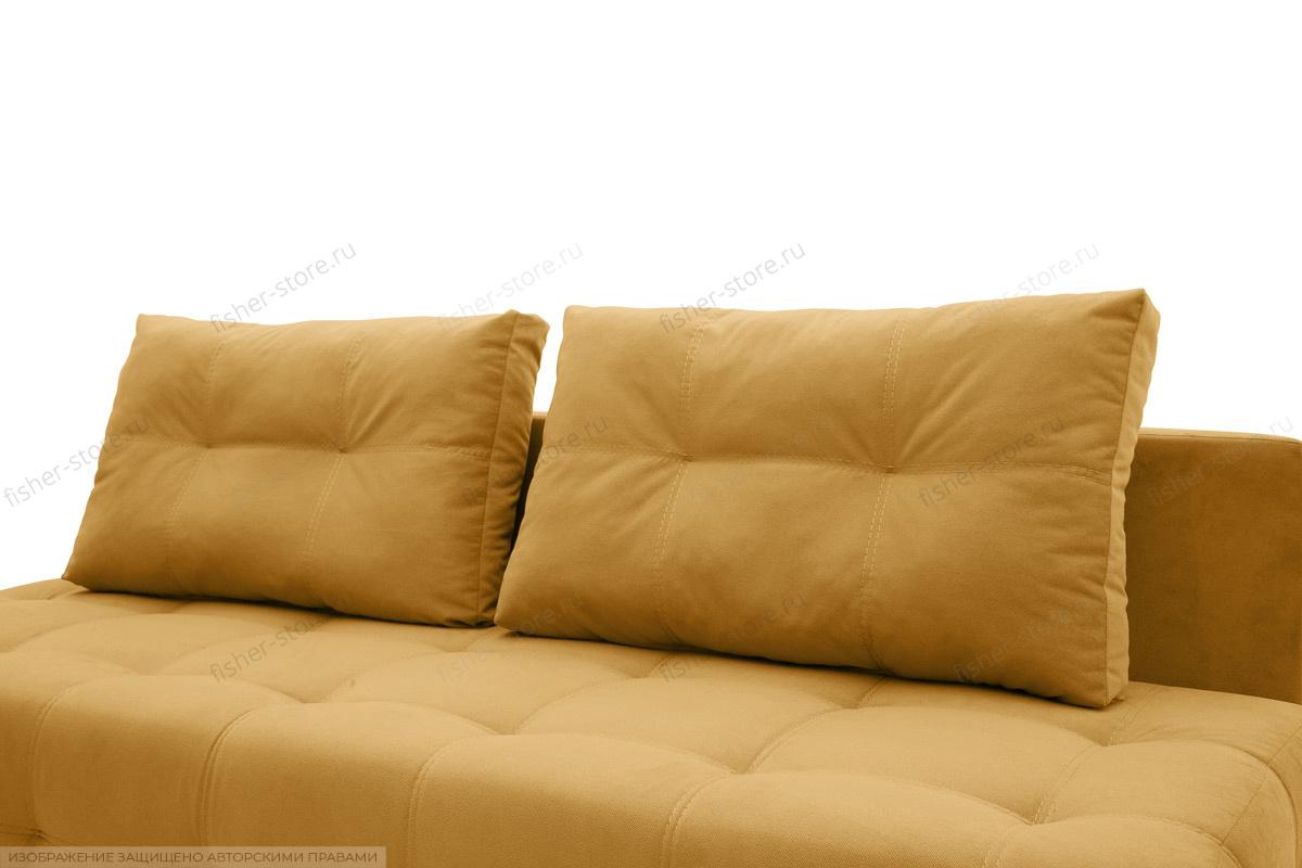 Прямой диван Фокс Amigo Yellow Подушки