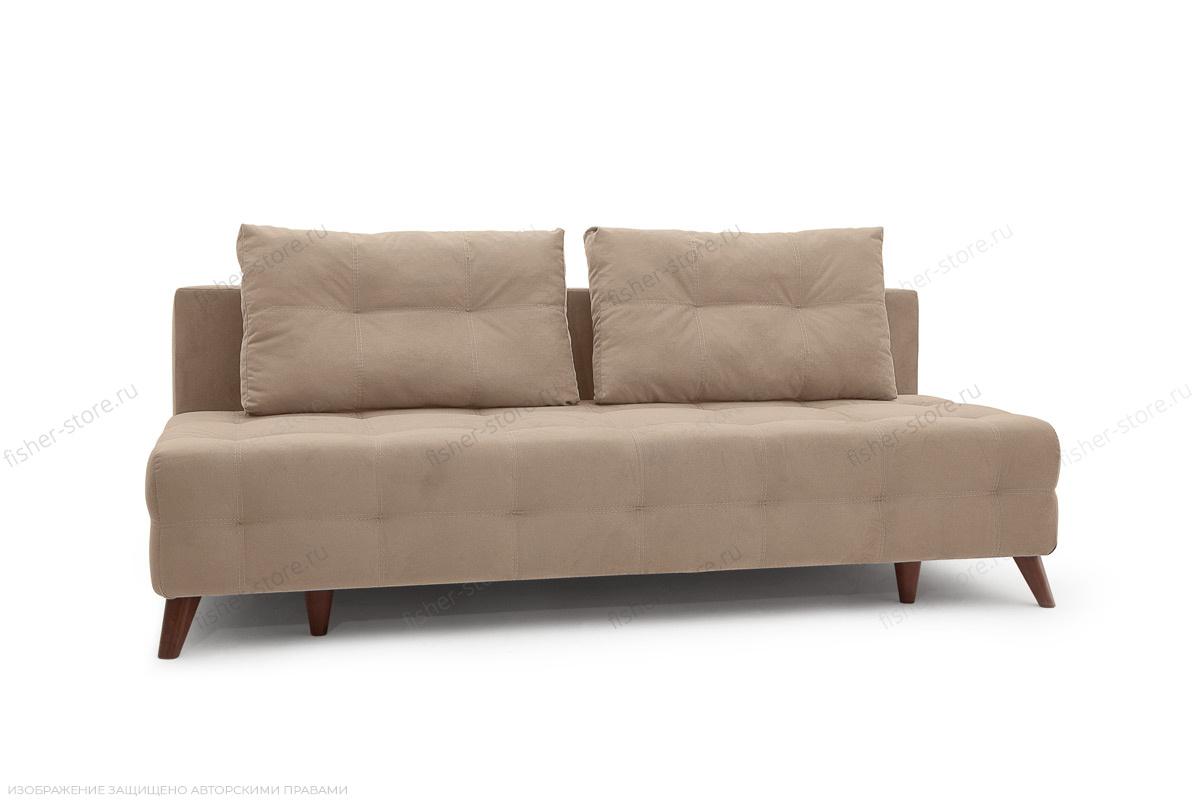 Прямой диван Фокс Amigo Latte Вид по диагонали