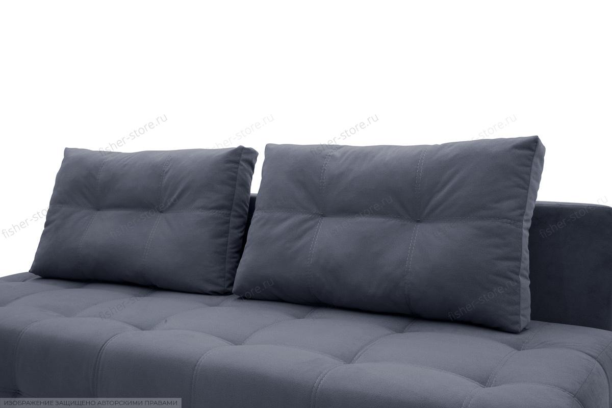 Прямой диван Фокс Amigo Navy Подушки