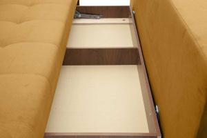 Прямой диван Фокс Amigo Yellow Ящик для белья