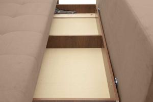 Прямой диван Фокс Amigo Latte Ящик для белья