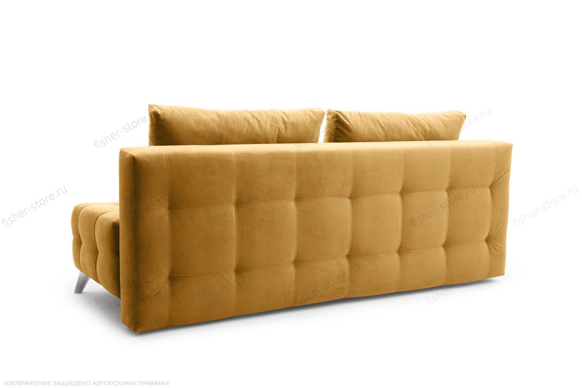 Прямой диван Фокс Amigo Yellow Вид сзади