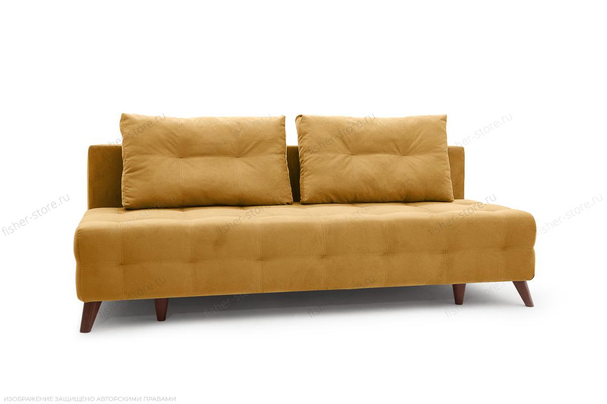 Прямой диван Фокс Amigo Yellow Вид по диагонали
