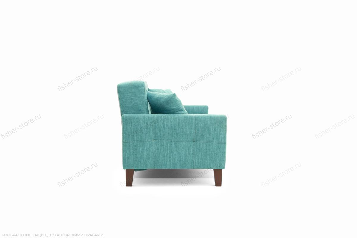 Прямой диван Этро люкс с опорой №3 Orion Blue Вид сбоку