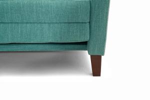Прямой диван Этро люкс с опорой №3 Orion Blue Ножки