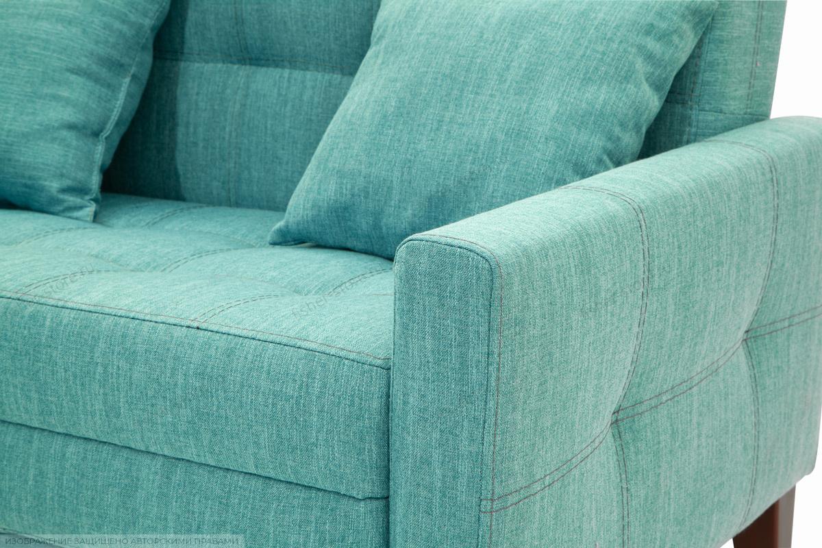 Диван Этро люкс с опорой №3 Orion Blue Текстура ткани