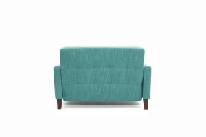 Прямой диван Этро люкс с опорой №3 Orion Blue Вид сзади