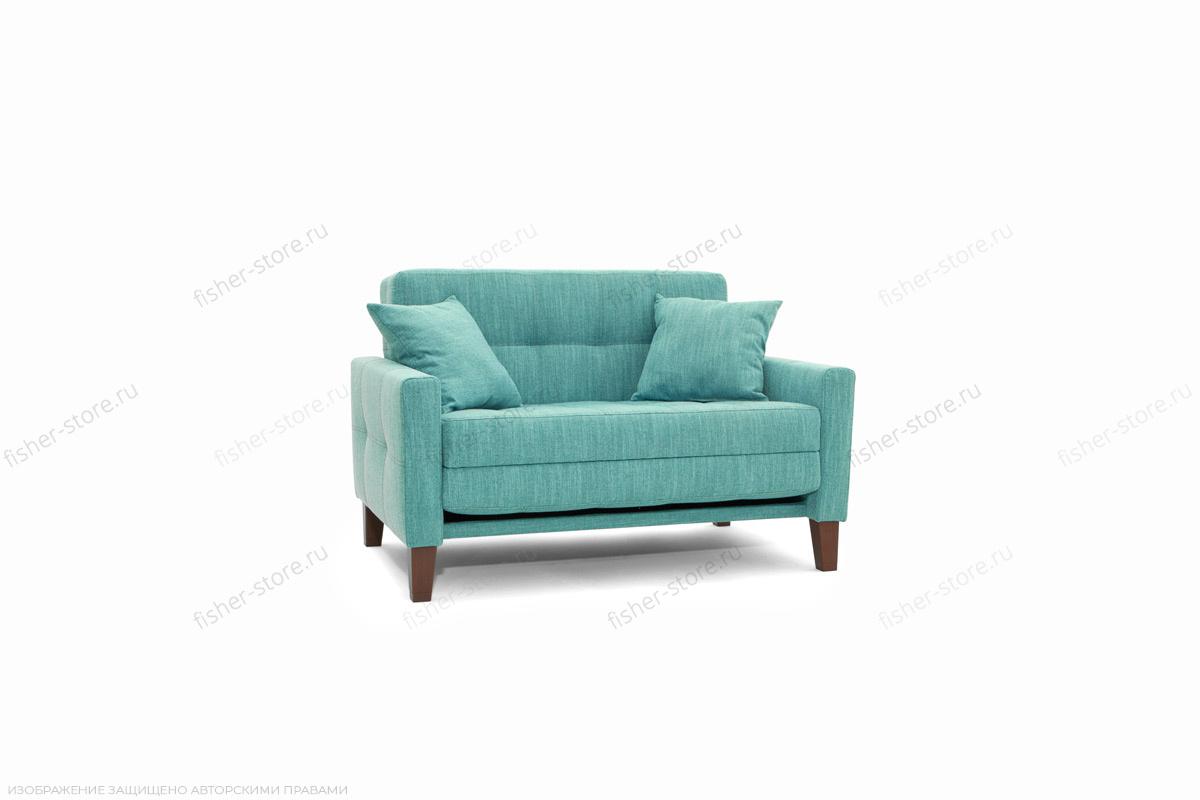 Прямой диван Этро люкс с опорой №3 Orion Blue Вид по диагонали