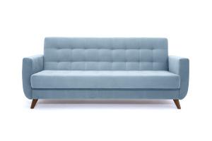Прямой диван Оскар-2 с опорой №12 Amigo Blue Вид спереди