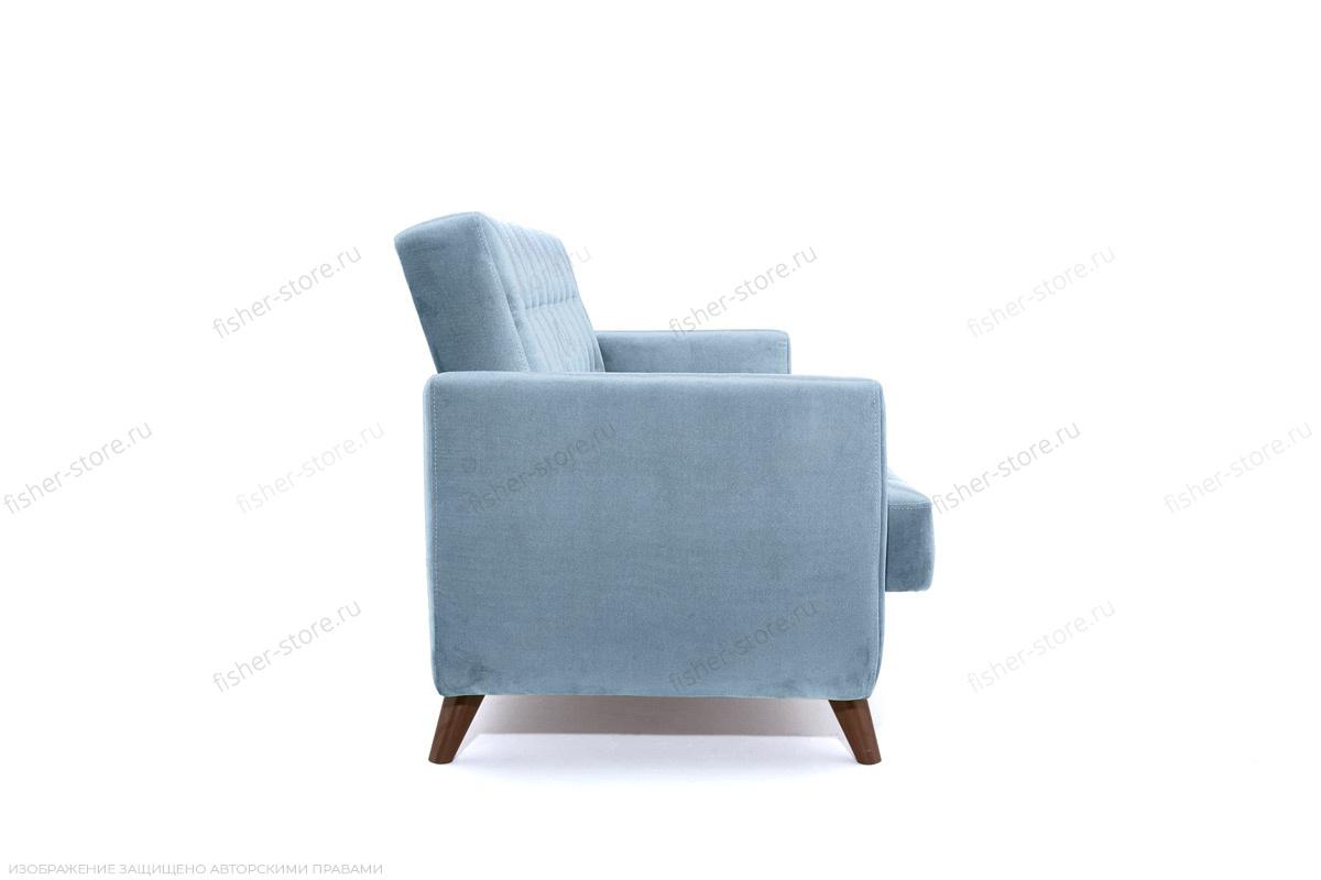 Прямой диван Оскар-2 с опорой №12 Amigo Blue Вид сбоку