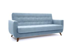 Прямой диван Оскар-2 с опорой №12 Amigo Blue Вид по диагонали