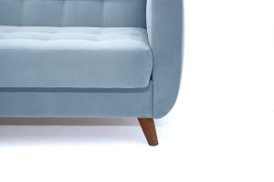 Прямой диван Оскар-2 с опорой №12 Amigo Blue Ножки