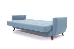 Прямой диван Оскар-2 с опорой №12 Amigo Blue Спальное место