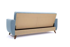 Прямой диван Оскар-2 с опорой №12 Amigo Blue Вид сзади
