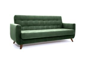 Прямой диван Оскар-2 с опорой №12 Amigo Green Вид по диагонали