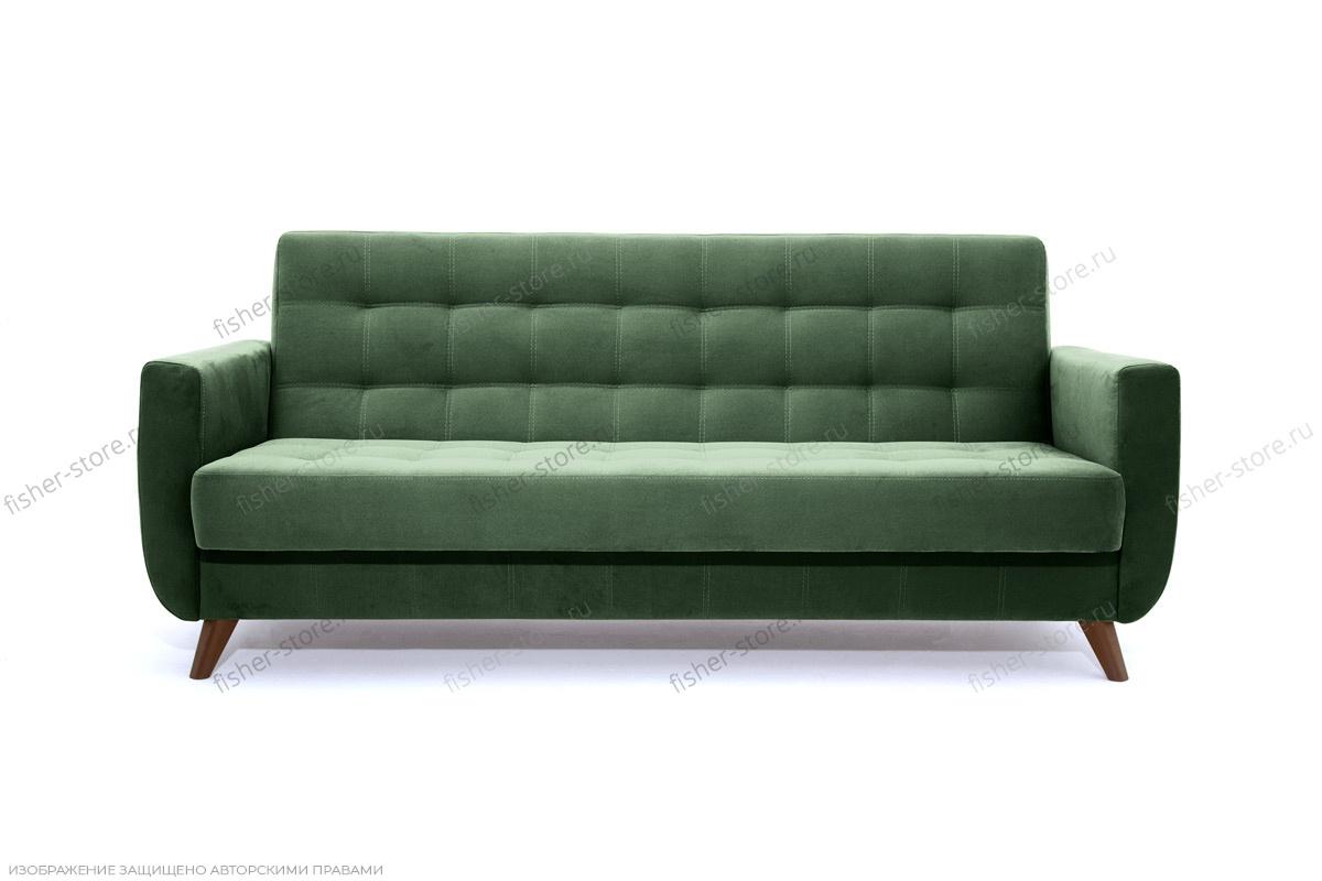 Прямой диван Оскар-2 с опорой №12 Amigo Green Вид спереди