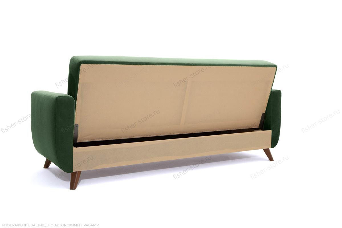Прямой диван Оскар-2 с опорой №12 Amigo Green Вид сзади