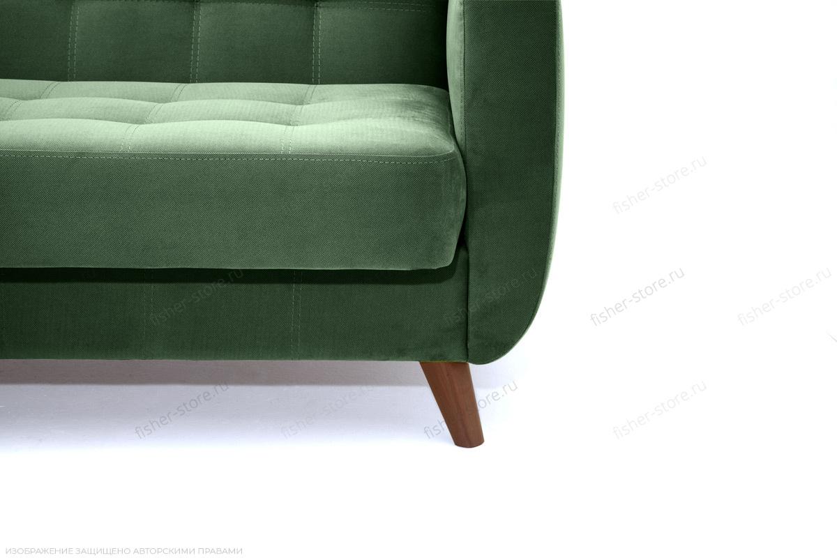 Прямой диван Оскар-2 с опорой №12 Amigo Green Ножки