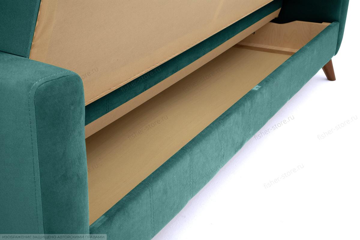 Прямой диван Оскар-2 с опорой №12 Amigo Lagoon Ящик для белья