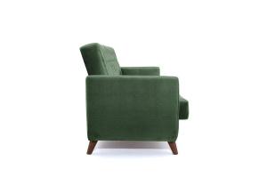 Прямой диван Оскар-2 с опорой №12 Amigo Green Вид сбоку