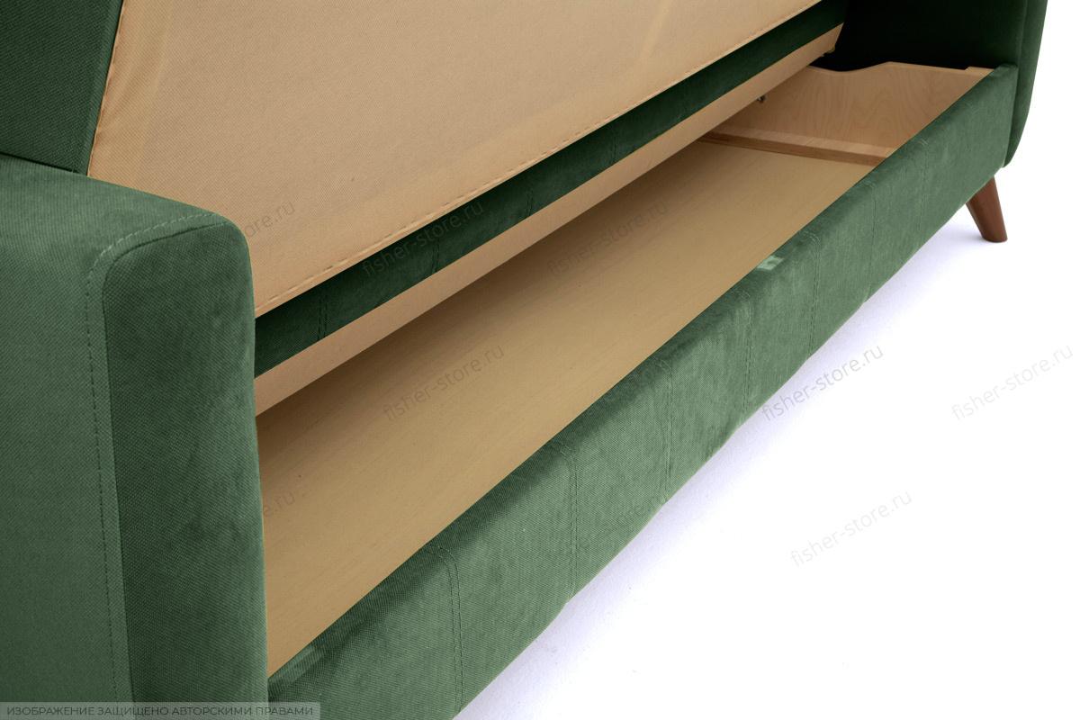 Прямой диван Оскар-2 с опорой №12 Amigo Green Ящик для белья