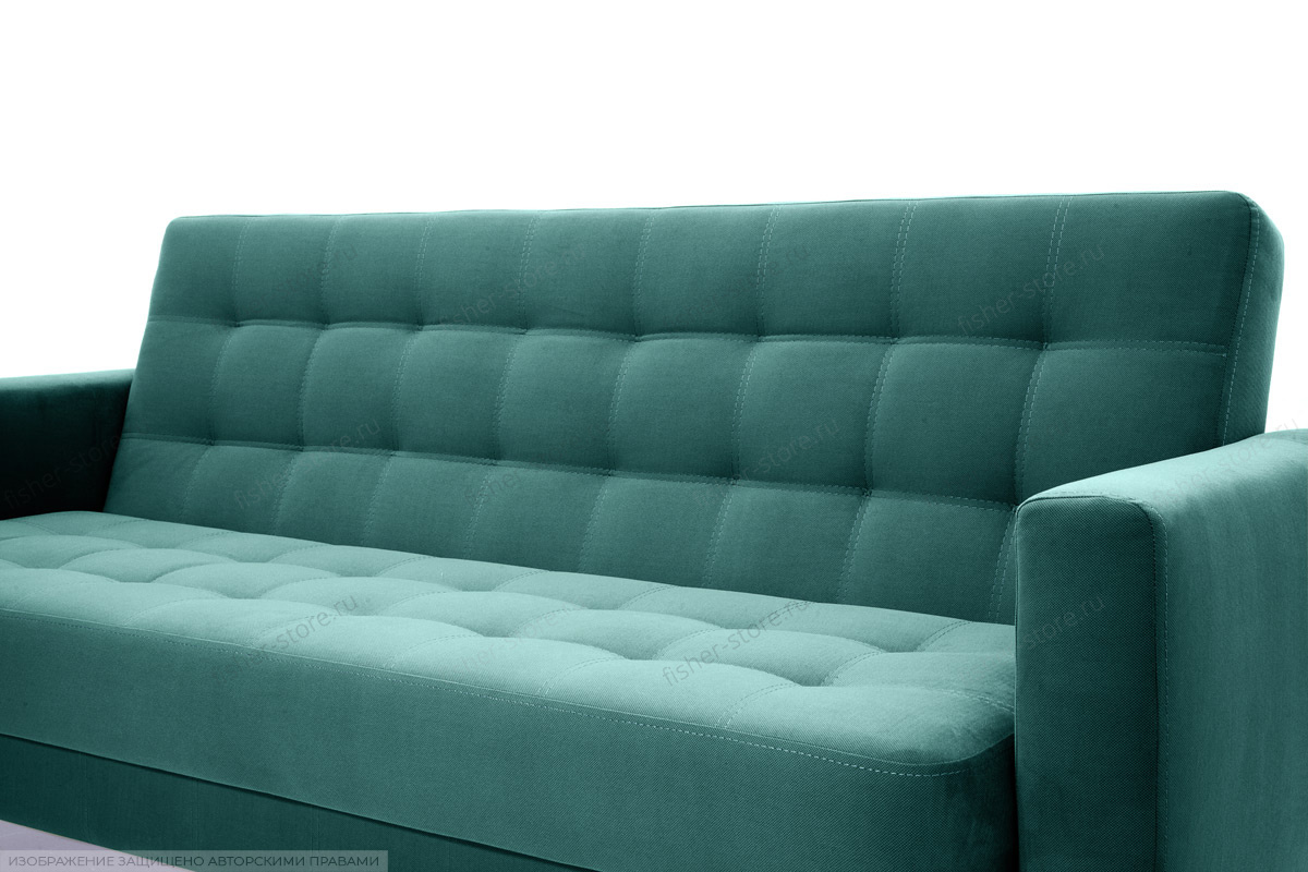 Прямой диван Оскар-2 с опорой №12 Amigo Lagoon Текстура ткани