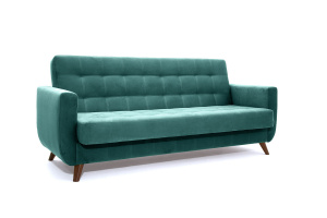 Прямой диван Оскар-2 с опорой №12 Amigo Lagoon Вид по диагонали