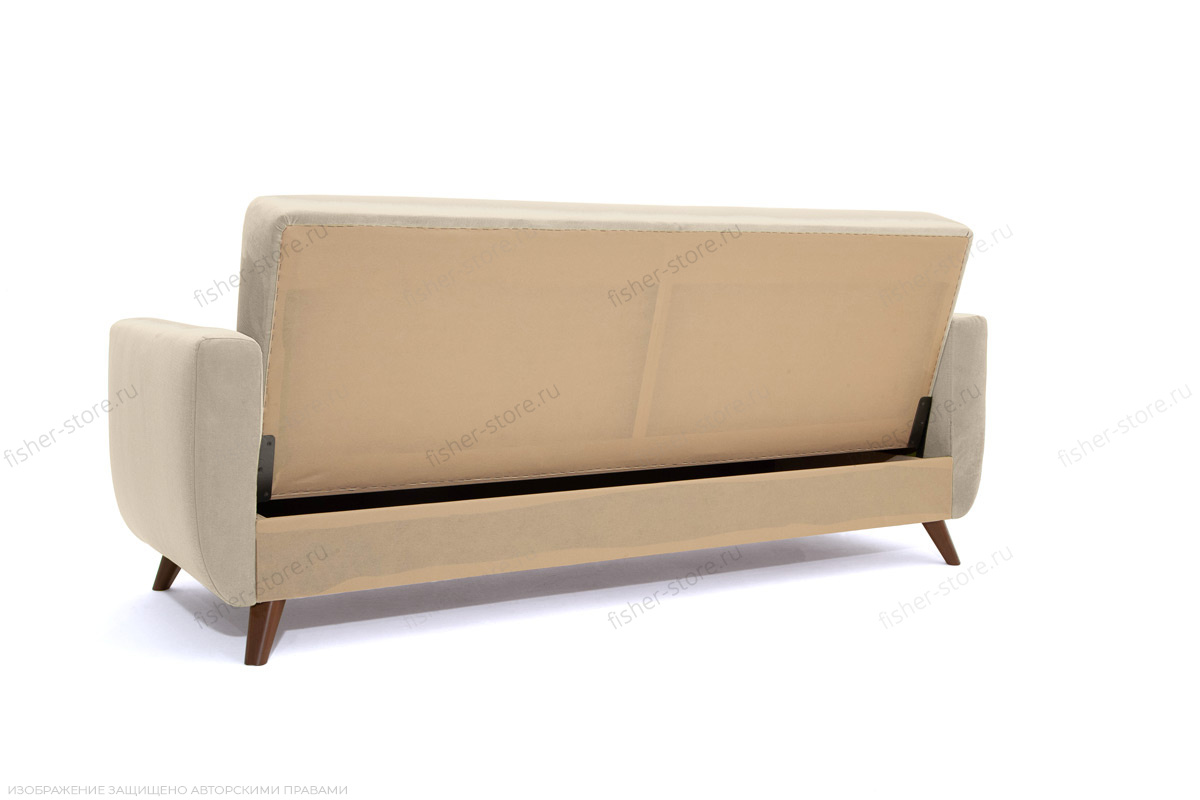 Прямой диван Оскар-2 с опорой №12 Amigo Bone Вид сзади