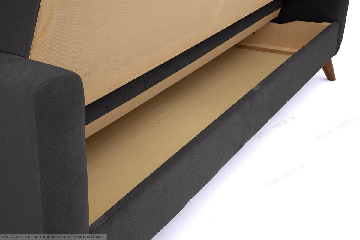 Диван Оскар-2 с опорой №12 Amigo Grafit Ящик для белья