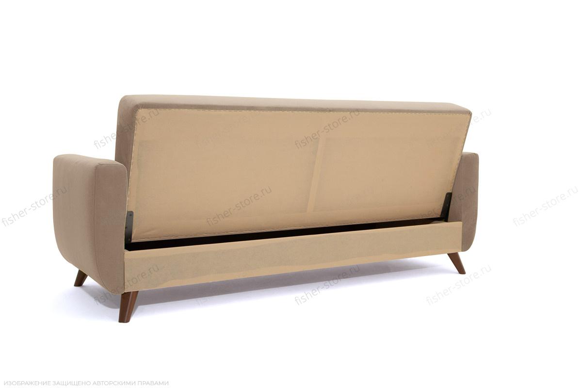 Прямой диван Оскар-2 с опорой №12 Amigo Latte Вид сзади