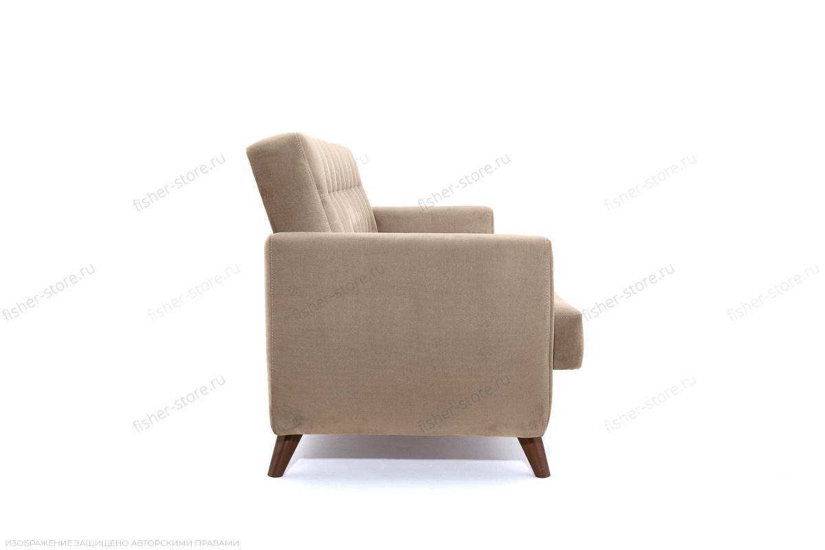 Прямой диван Оскар-2 с опорой №12 Amigo Latte Вид сбоку
