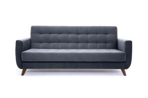 Прямой диван Оскар-2 с опорой №12 Amigo Navy Вид спереди