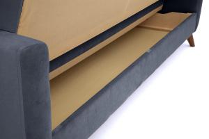 Прямой диван Оскар-2 с опорой №12 Amigo Navy Ящик для белья