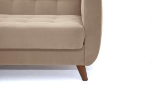 Прямой диван Оскар-2 с опорой №12 Amigo Latte Ножки